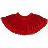 Lace Petticoat Red Adult Plus